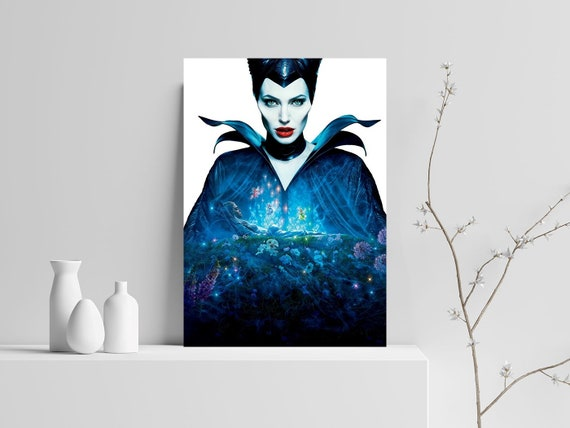 Maleficent 2 Mistress Of Evil Poster Angelina Jolie Movie Poster Home And Wall Decor Fairy Tale Sleeping Beauty Inspired 02