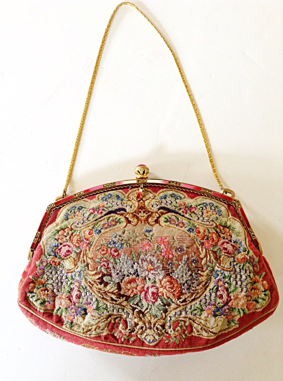 French Tapestry Purse