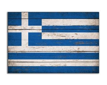 Wood greece flag   Etsy