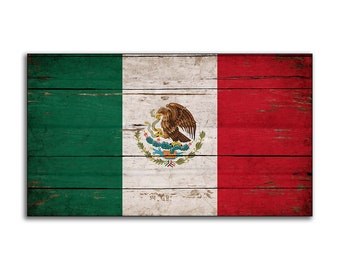 Cool picture of the mexican flag to print
