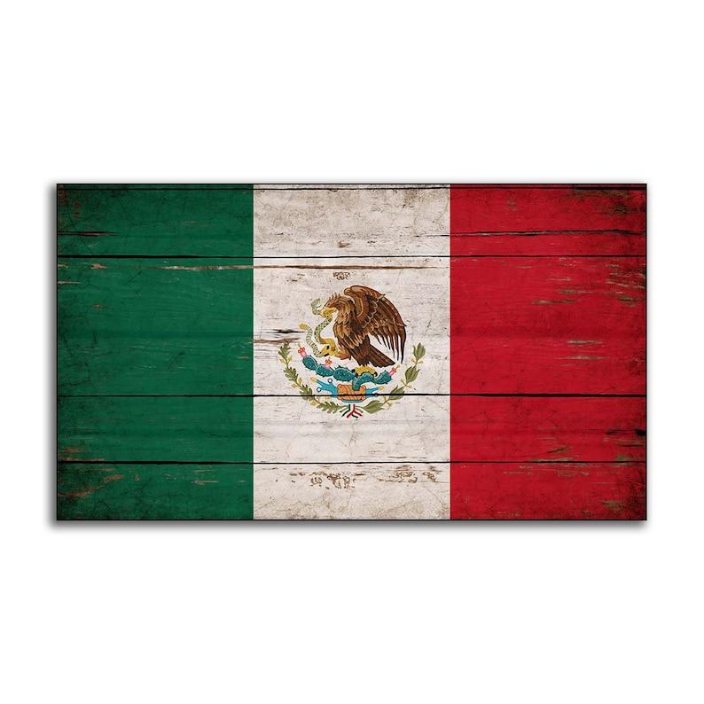 Mexique Drapeau Bandera De México Drapeau Drapeaux Drapeaux Etsy
