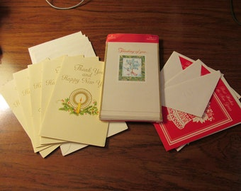 16 vintage new year cards old time hallmark american greetings 1981 1982