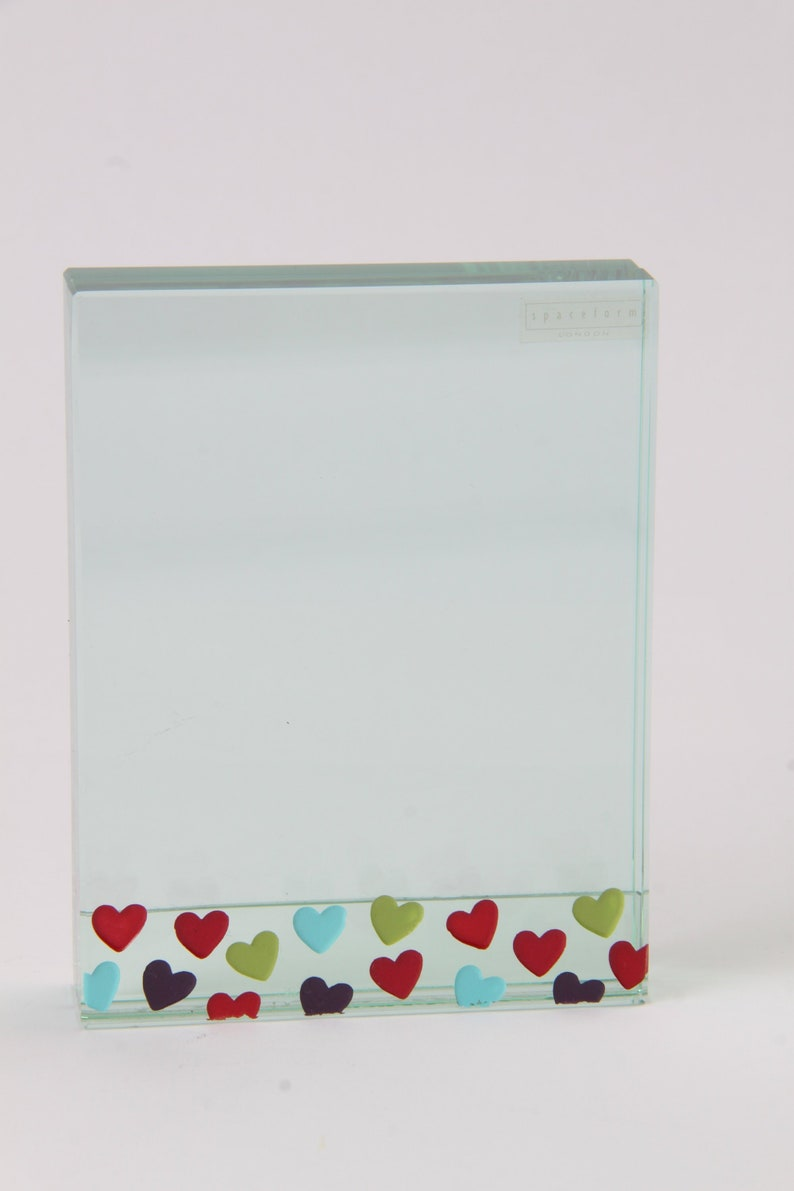 a7186014f4bb Spaceform Photo Frame Scattered Hearts Valentines Gift. 4