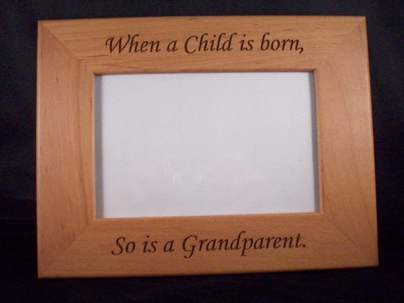 4 x 6 Grandparent picture frame | Etsy