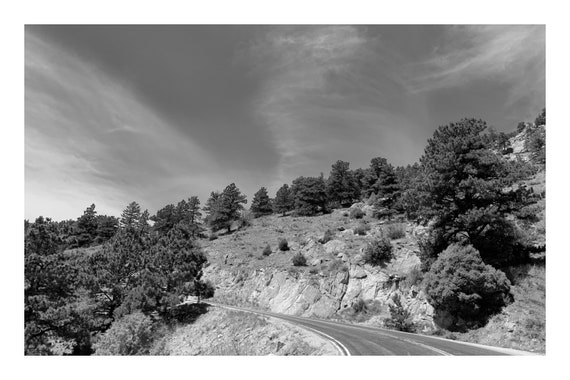 Going Up The Country,  Black and White Fine Art Photography Print   (Hi-Res Digital Download)