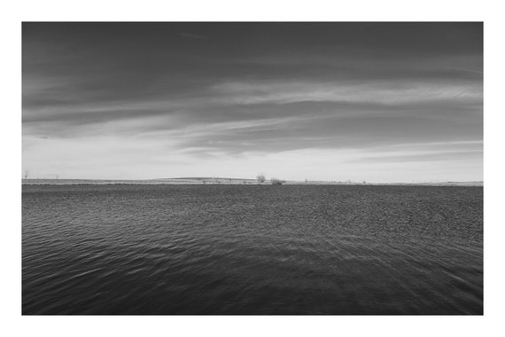 The Lake,  Black and White Fine Art Photography Print   (Hi-Res Digital Download)