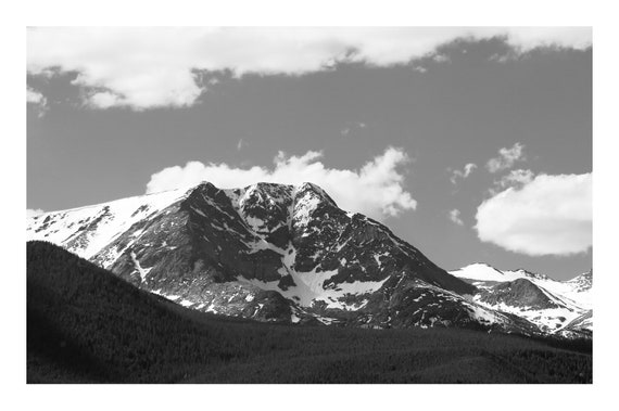 The Mountains Are Calling,  Black and White Fine Art Photography Print   (Hi-Res Digital Download)