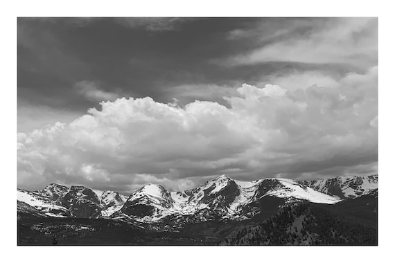 Stunning Lookout,  Black and White Fine Art Photography Print   (Hi-Res Digital Download)