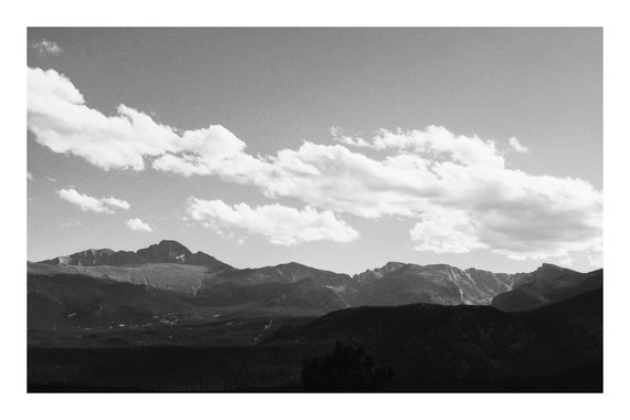 Take Me To The Mountains,  Black and White Fine Art Photography Print   (Hi-Res Digital Download)