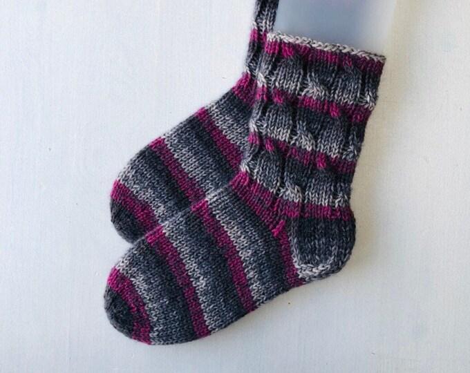 38/39 size winter boot socks Warm woollen winter socks Mohair slipper socks
