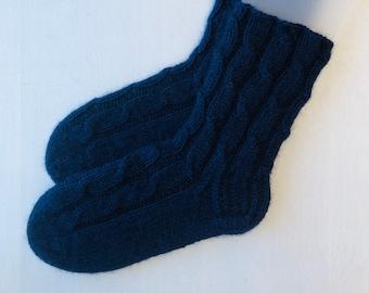 44/45 izmērs - Tumši zilas Rü superzeķes - vienkrāsainas - Gatavas sūtīšanai