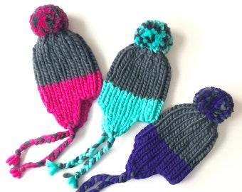 4-6 gadi - Peru aitu vilnas ziemas cepure, gatava sūtīšanai