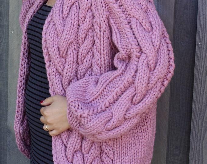 Labi rozā lielā pīņu jaka - Gatava sūtīšanai