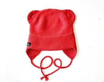 2-5 gadi - Lāčuka vilnas cepurīte - Gatava sūtīšanai