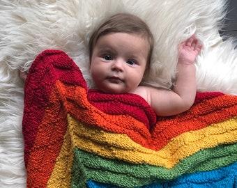 85x85cm - Varavīknes krāsu merīnvilnas sega mazulim - Gatava sūtīšanai.