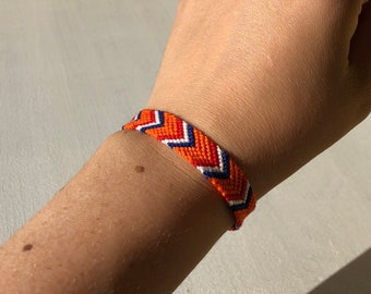 Flag of the Netherlands Holland friendship bracelet National flag bracelet Dutch Friendship Bracelet Orange Holland sports fan bracelet