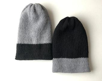 Divkrāsu Cepure Hermaņa atbalstam (pusvilna)