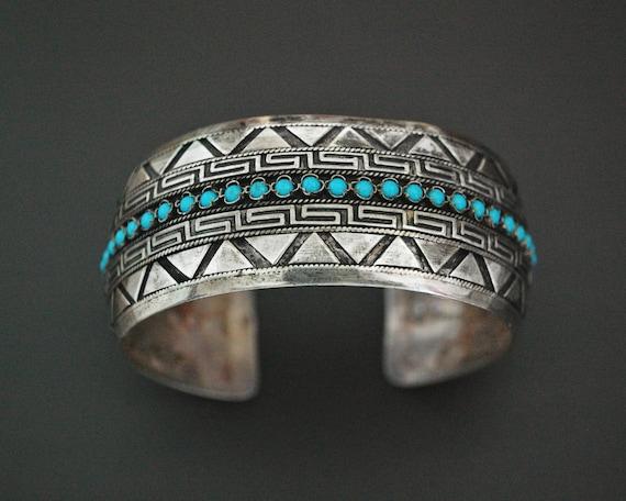 Ethnic Turquoise Cuff Bracelet
