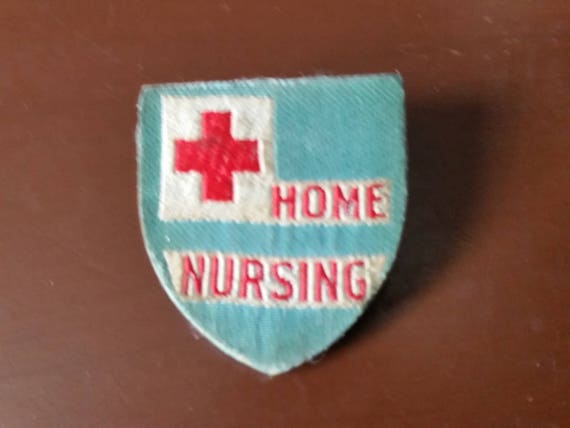 RED CROSS HOME NURSING PIN