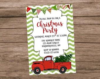 Einladung zur weihnachtsfeier | Etsy