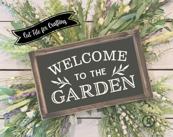 Welcome to the Garden SVG and Cut File for Crafting