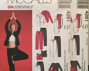McCall s Spa Essentials Zip-Front Jacket 105c4f431fab0