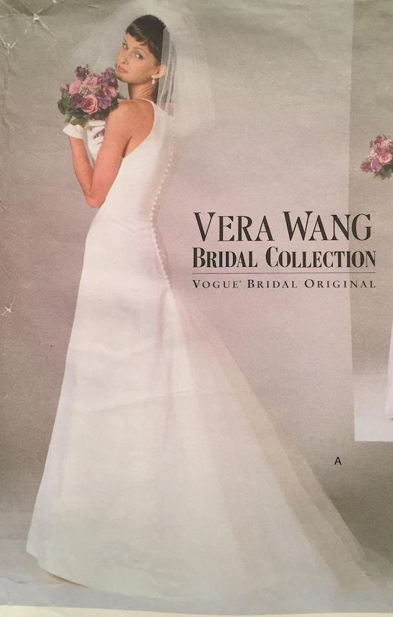 Vintage Vogue Vera Wang Robe De Collection De Mariee Avec Etsy