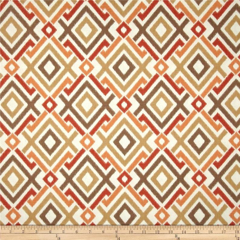 Curtains Pair 25 wide SwavelleMill Creek Jacq rod pocket geometric panels drapes 25x63 25x84 25x96 25x108 blue aqua yellow grey orange