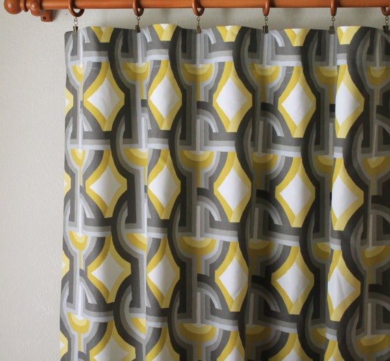 Curtains Pair Of 50 Wide Dwell Studio Futura Collection