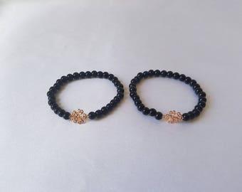 Beaded Bracelet/Charm Bracelet