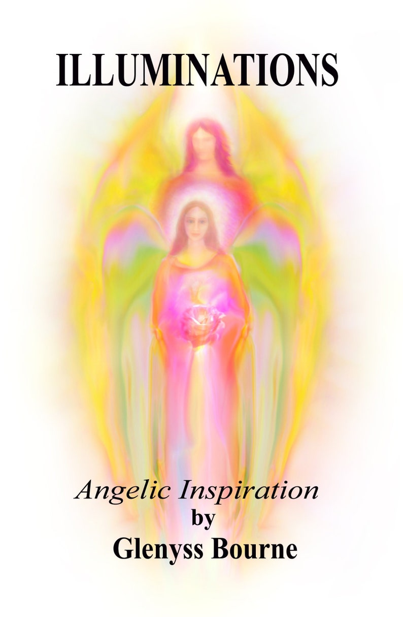 Illuminations New Angelic Guidance Book Hand Made by Glenyss image 0