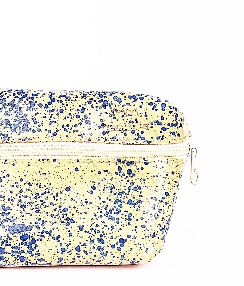 Belly bag Luca in light brown*dots
