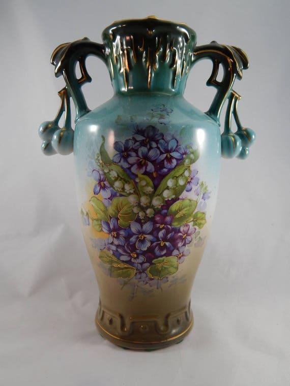 Outstanding Large Antique Royal Bruxonia Austria Porcelain Etsy