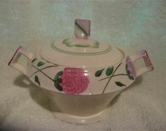 RARE MYOTT CLOVER Sugar Bowl Pattern 2350 Circa 1930