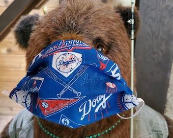 Dodger face mask/ face covering