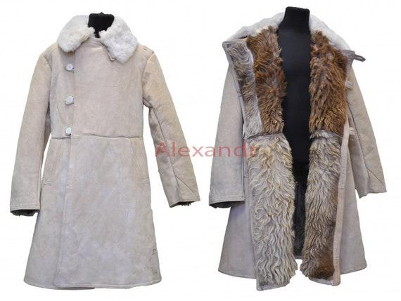 Bekesha, Shearling Coat Men, Sheepskin Coat Men, Shuba, Russian Coat, Shearling, Vintage Uniform, Overcoat, Sheepskin Jacket, Russian Tulup