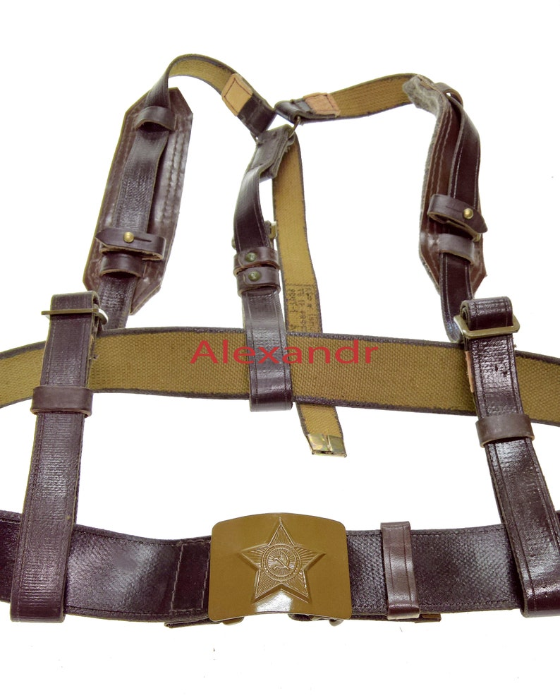Vintage Original Russin Soviet Army Harnesses Rock Climbing Harness