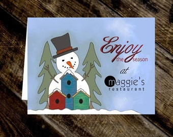 custom gift card holders branded gift card holder snowman personalized holiday gift card holder - Gift Card Holders Wholesale