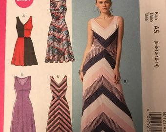 McCalls easy knit dresses M7121