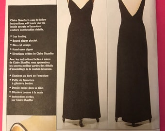 Vogue couture gown pattern V8449