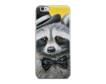 Racoon iphone case, racoon mobile case,  animal phone case,  racoon device case, racoon samsung galaxy case, racoon art phone case, racoon