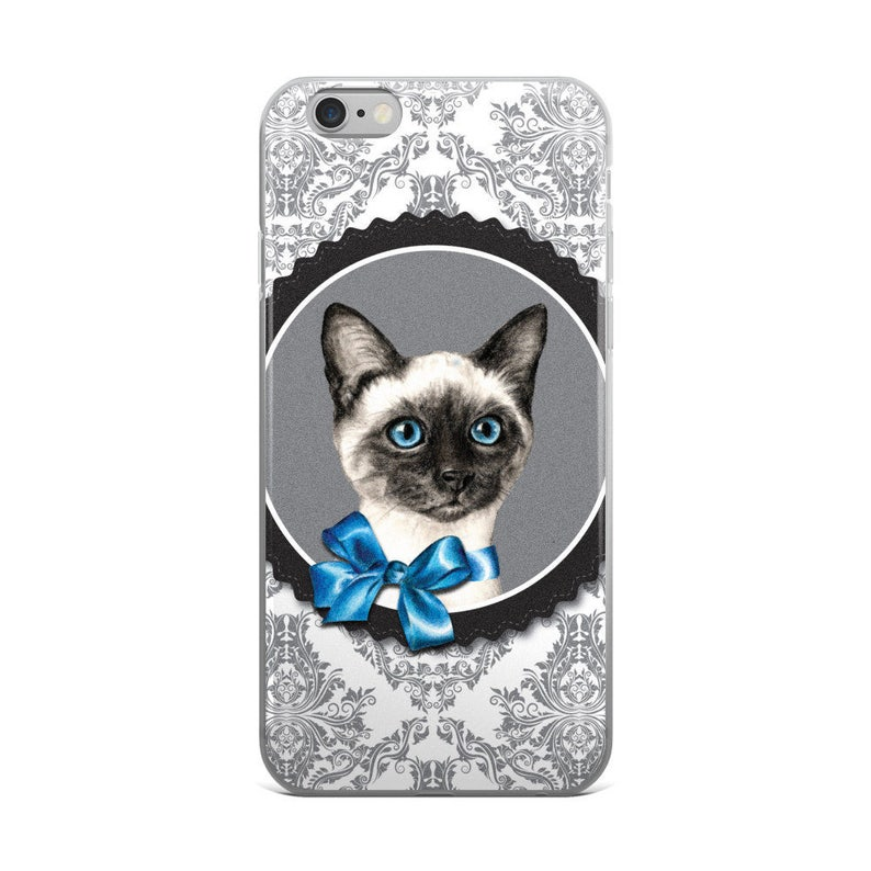 new product 8d973 606fd Siamese cat cell phone case, cat phone case, siamese iPhone, cat mobile  case, siamese mobile case, siamese samsung, cat flexible phone case