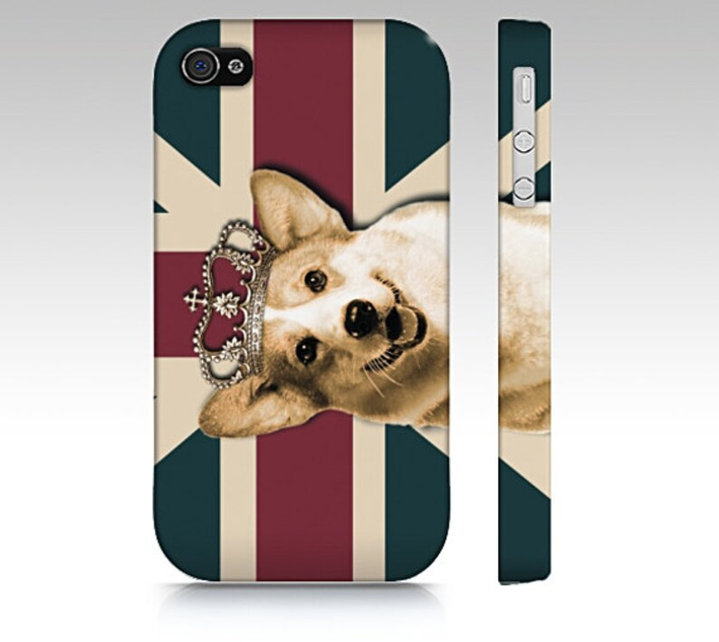 huge discount 735dc f3d1d Welsh corgi phone case, corgi iPhone case, corgi mobile case, corgi galaxy  case, dog phone case, England flag phone casei tough dual case