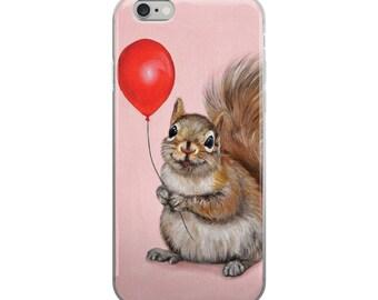 Squirrel iphone case,  squirrel mobile case, squirrel device case, squirrel samsung case, squirrel phone case, squirrel art phone case