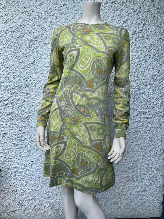 1960's Paisley dress
