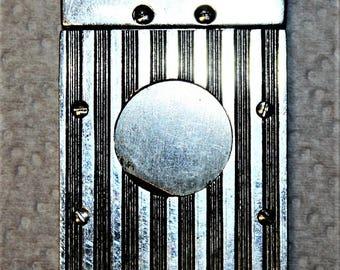 Vintage steel cigar cutter