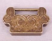 Vintage Chinese Style LUCK Rabbit Lock, Key Lock