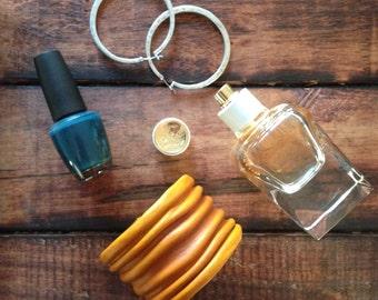 Bangle Leather Cuffs Yellow
