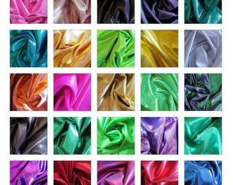 """3""""-36"""" Mystique dot spandex purple, kelly green, silver, yellow, red, white, lime, navy, lime, lt blue"""