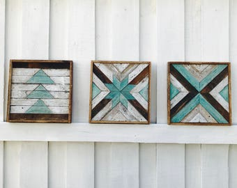 Wooden Wall Art Etsy